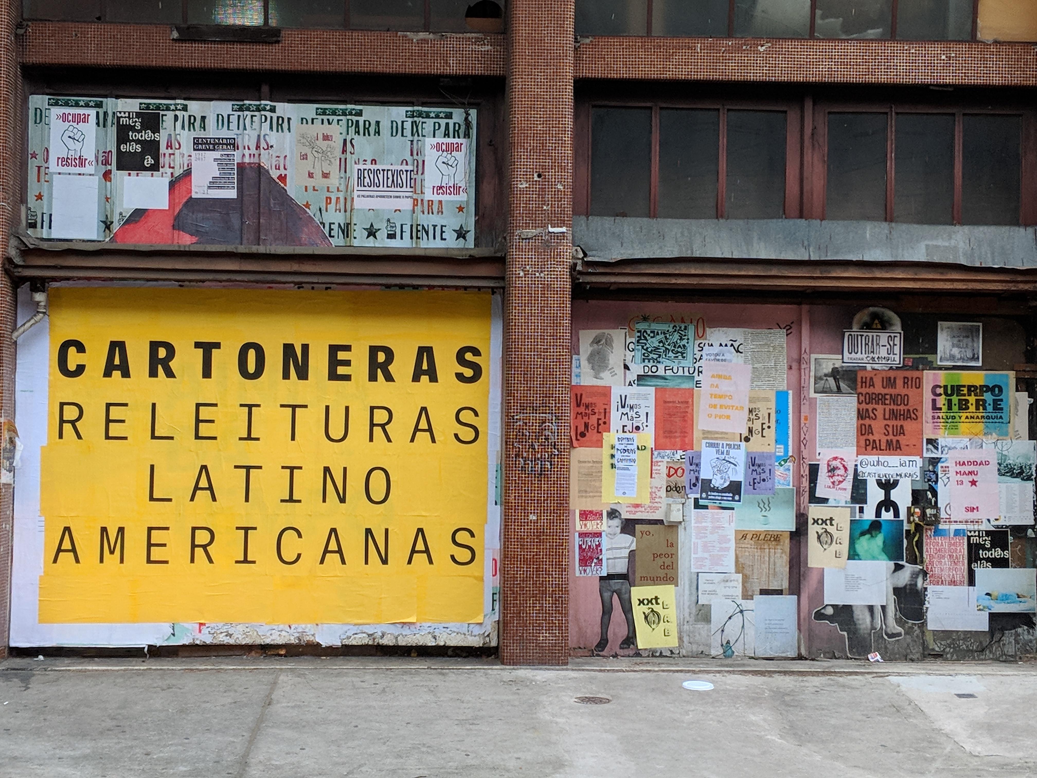 International Cartonera 'Encontro' at Casa do Povo, São Paulo